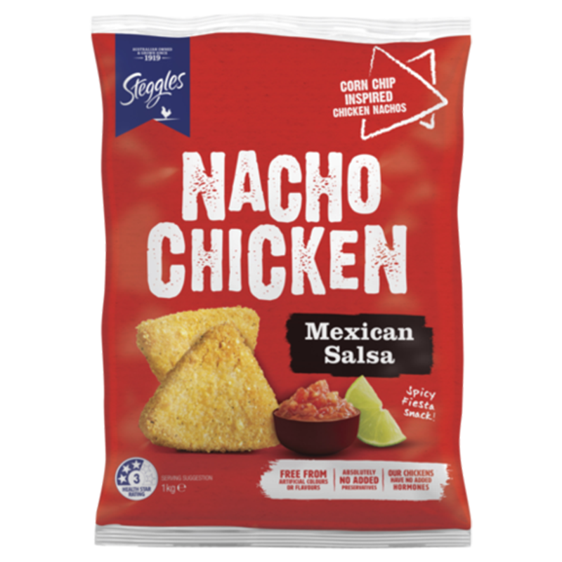 Image of Steggles Nacho Chicken Mexican Salsa 1Kg