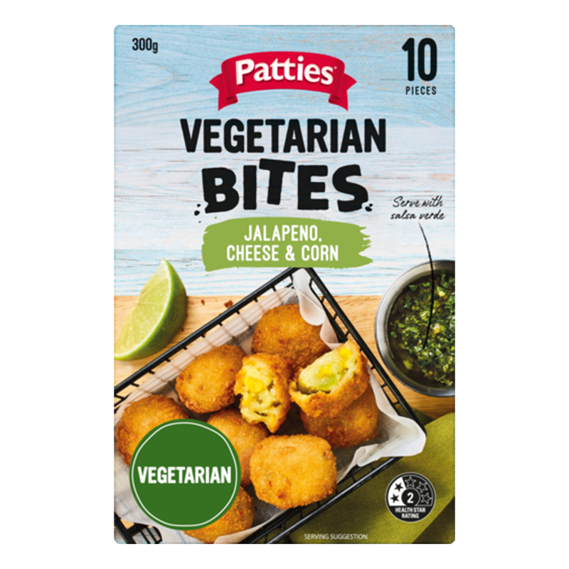 Image of Patties Jalapeno Cheese And Corn Bites 300G