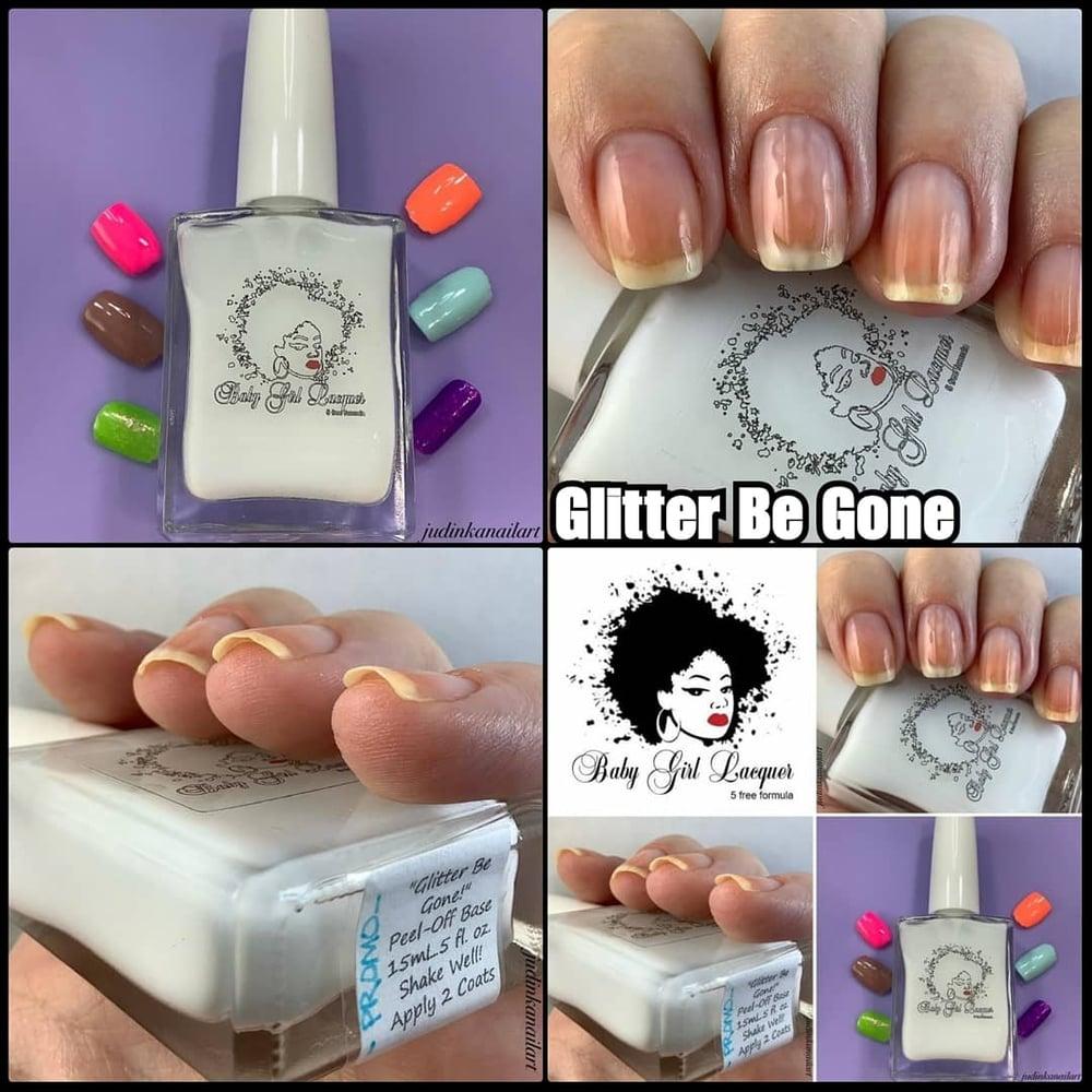 Image of *[Top Seller!]* Glitter Be Gone! [Peel-off Base]