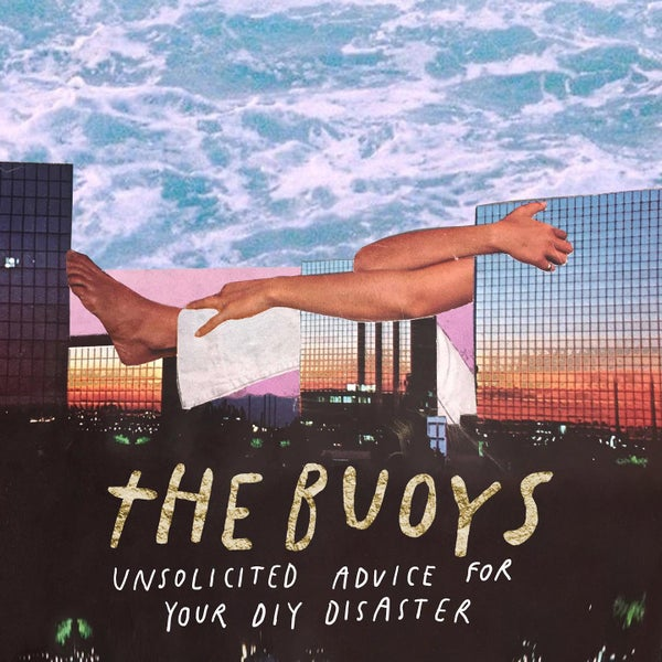 """Image of The Buoys """"Unsolicited Advice"""" (Black Vinyl)"""