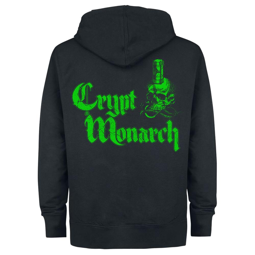 Image of Crypt Monarch Zip Hoodie