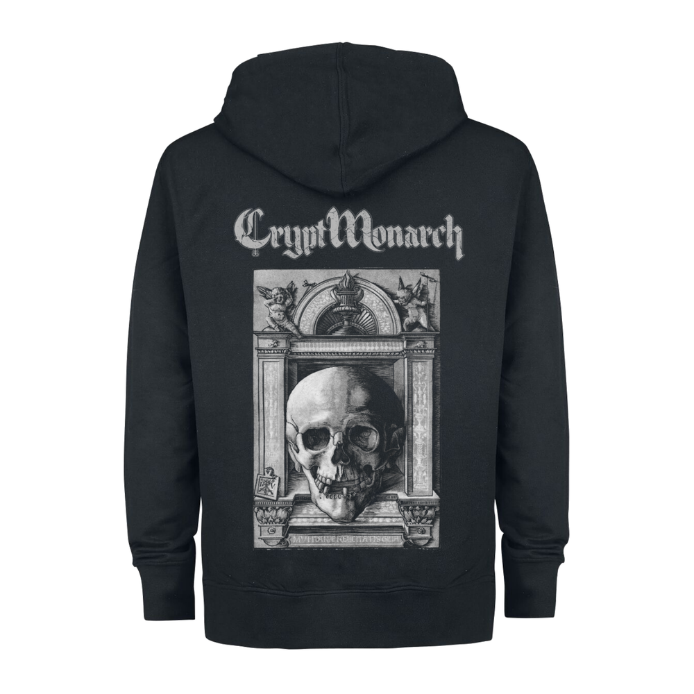 Image of Crypt Monarch #2 Zip Hoodie