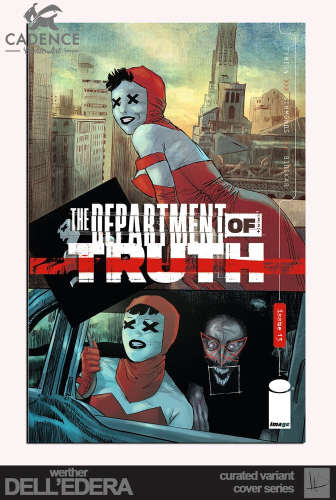 Image of The Department of Truth #13 / Werther Dell'Edera Variant Cover Series