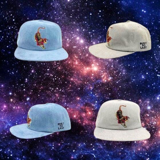 Image of NEW Tiger Corduroy Snapback Hat!