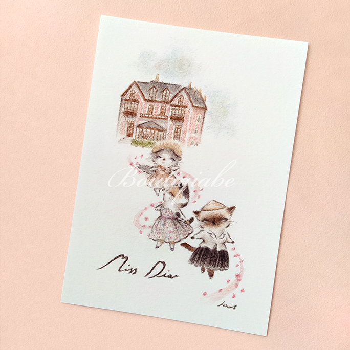 Image of Miss Dior - Art Print