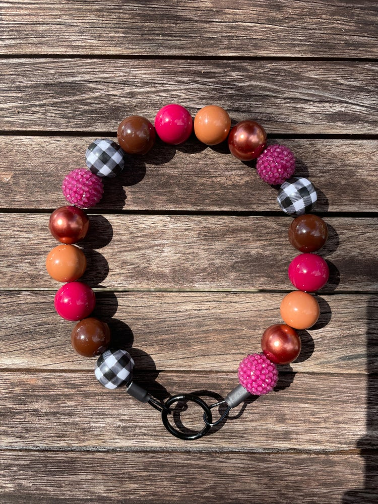 Image of Berry Harvest Beaded Collar