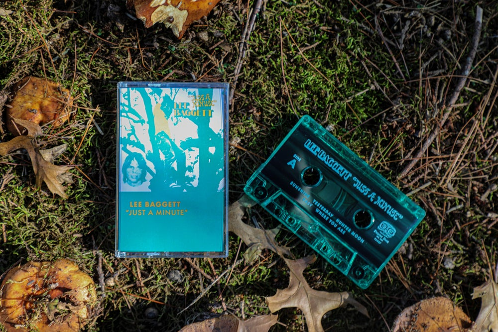 """""""Just A Minute"""" Cassette by Lee Baggett"""