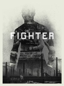 """Image of The Fighter poster """"Irish"""" Micky Ward"""