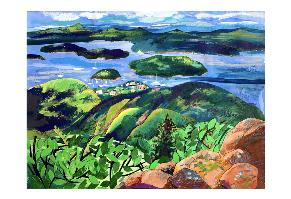 Image of Art Prints of Acadia National Park, Maine