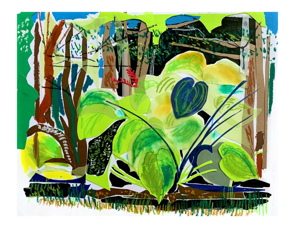 Image of Art Prints Figures and Plants
