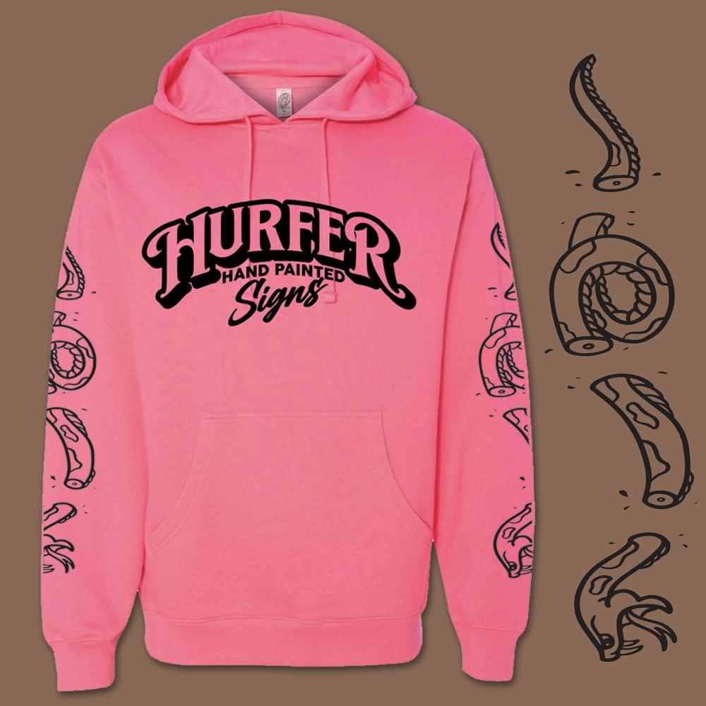 Hurfer Rose Pink Hooded Sweatshirt PRE-ORDER
