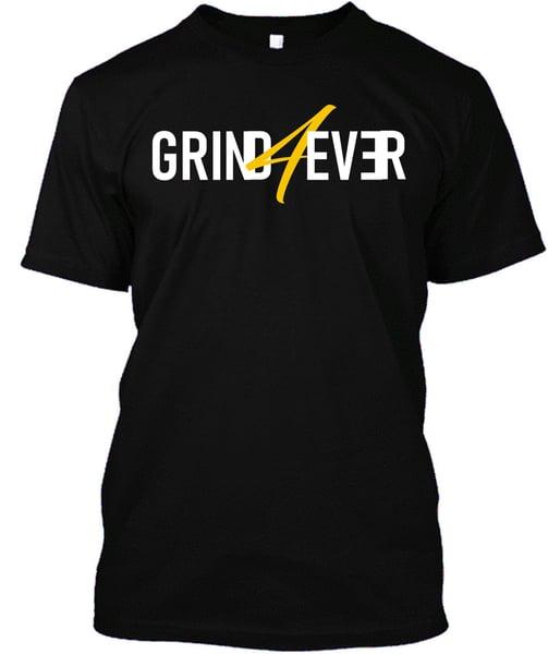 Image of GRIND4EVER TEE BLACK