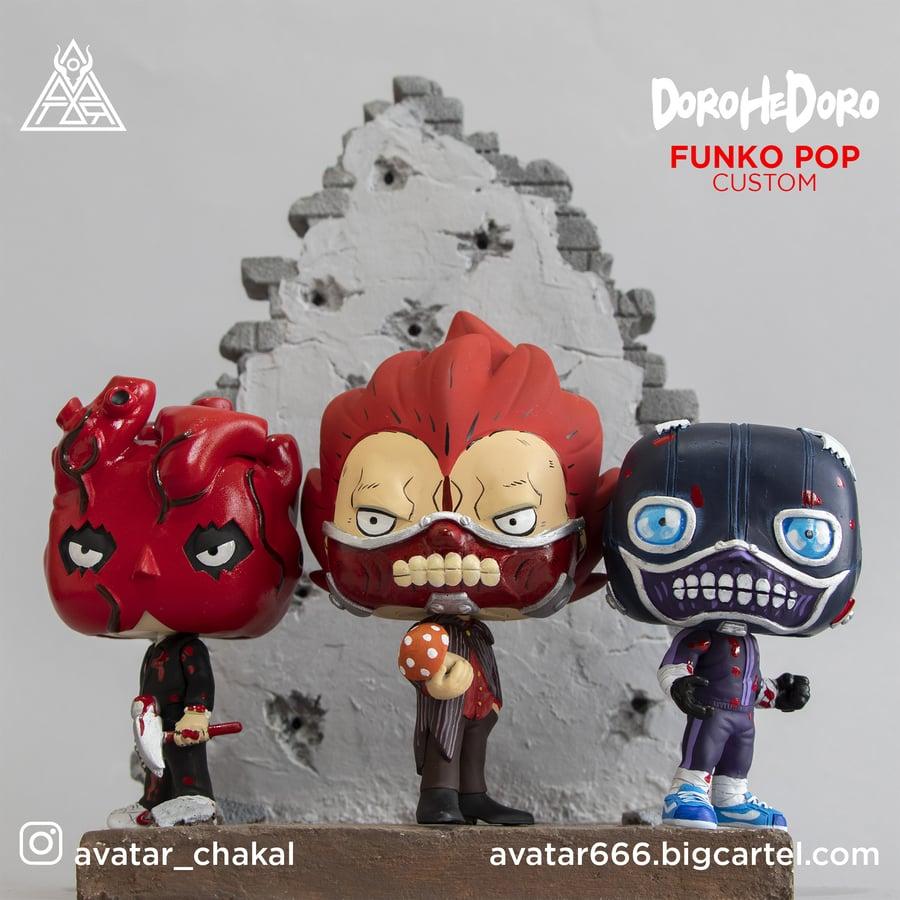 Image of DOROHEDORO SET funko pop custom