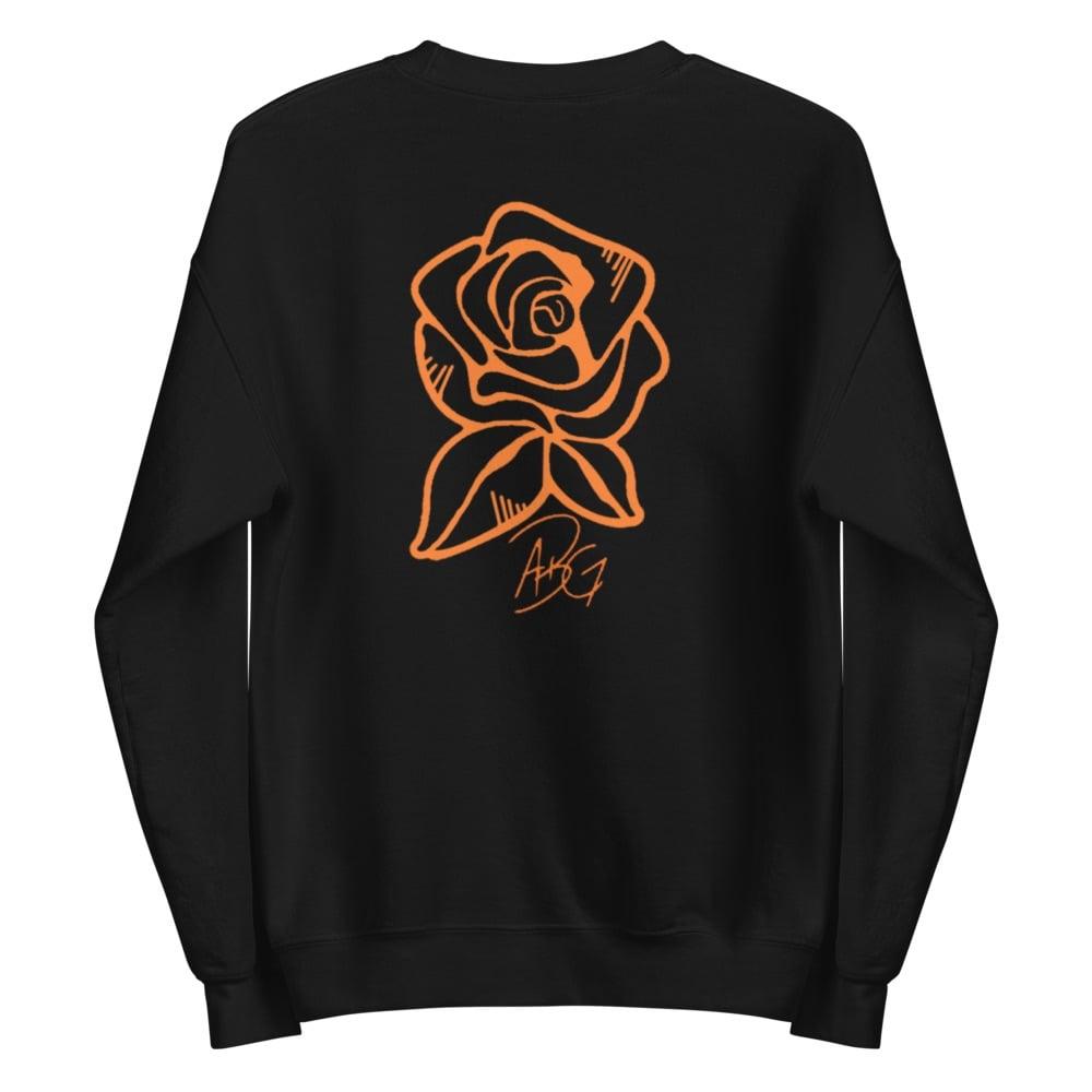 Image of Long Live the Rose Black Sweatshirt