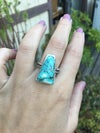 Vintage Turquoise Rodeo Ring