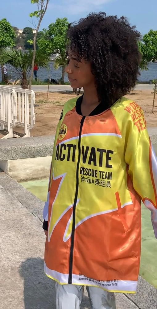 Image of Activate Long Satin Finish Jacket