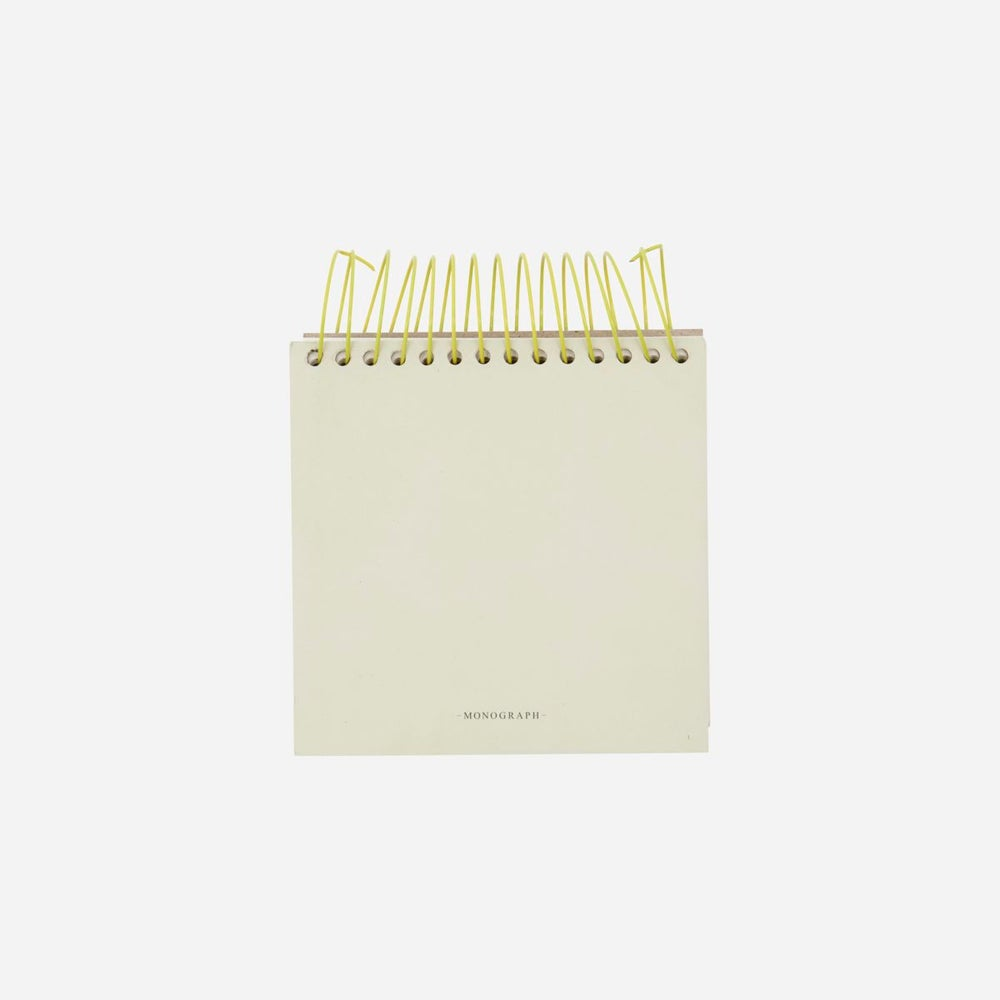 Image of 'Swirl' square blank notepad