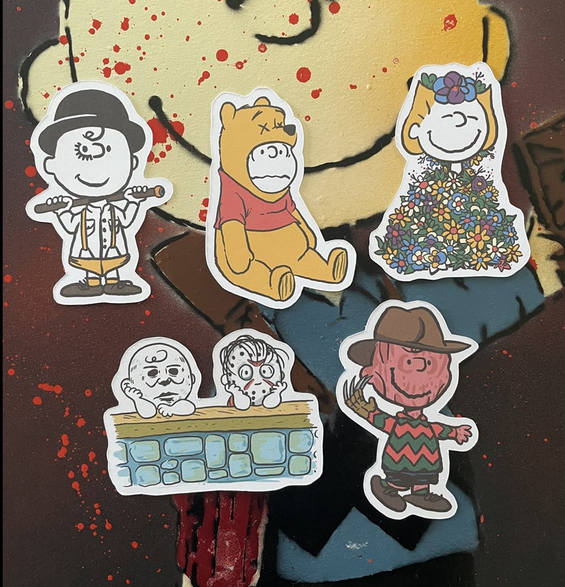 Image of Halloween Sticker set