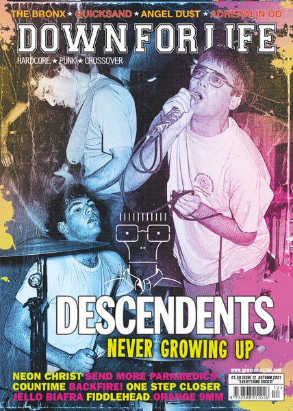 Image of DOWN FOR LIFE #12 DESCENDENTS - PREORDER NOW!