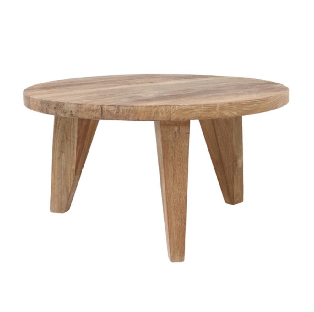 Image of Reclaimed teak coffee table medium