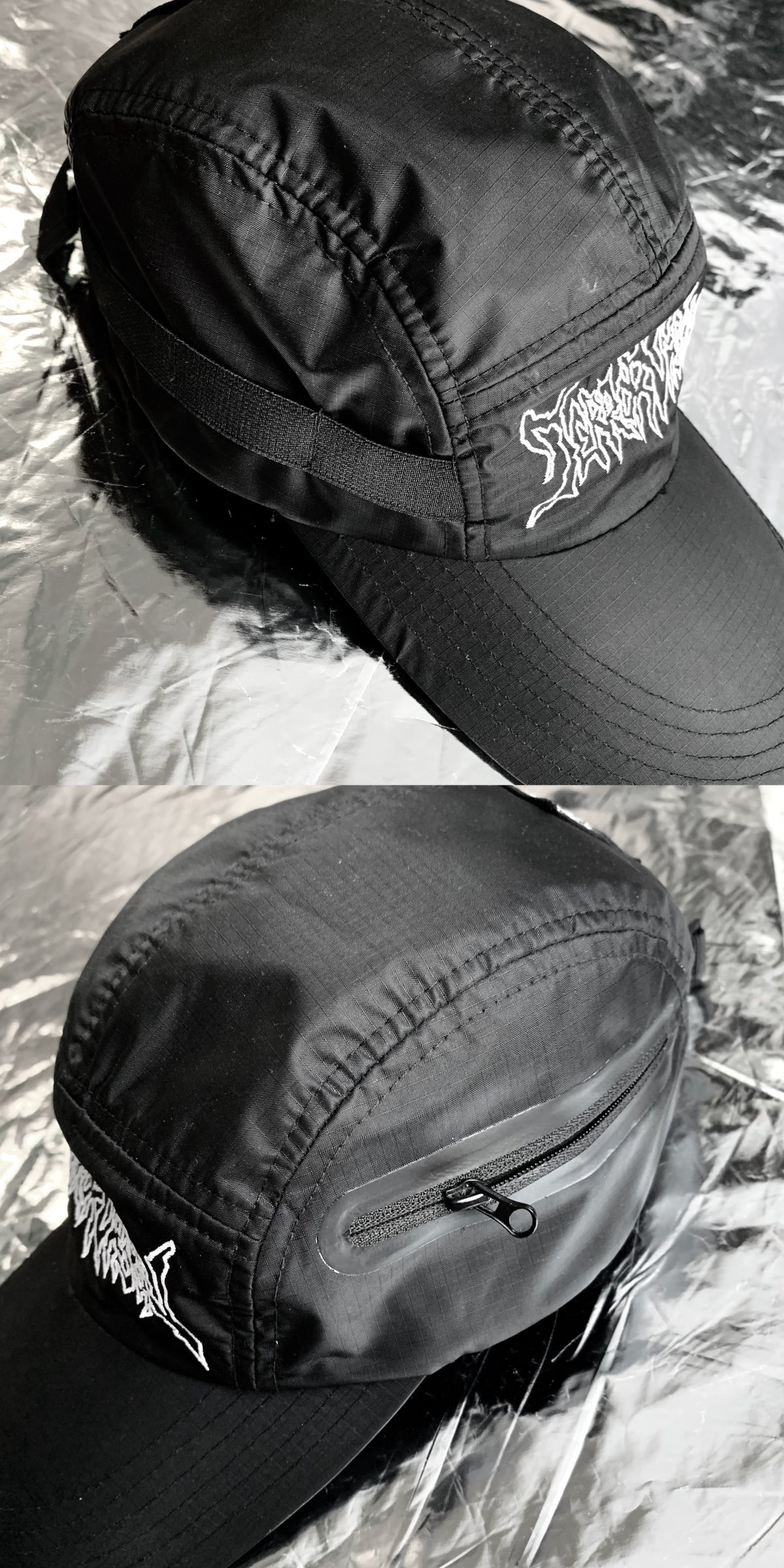 Image of TERROR VISION - logo embroidery 5panel cap