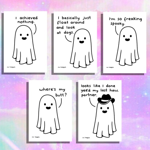 Image of The spooky ghost prints