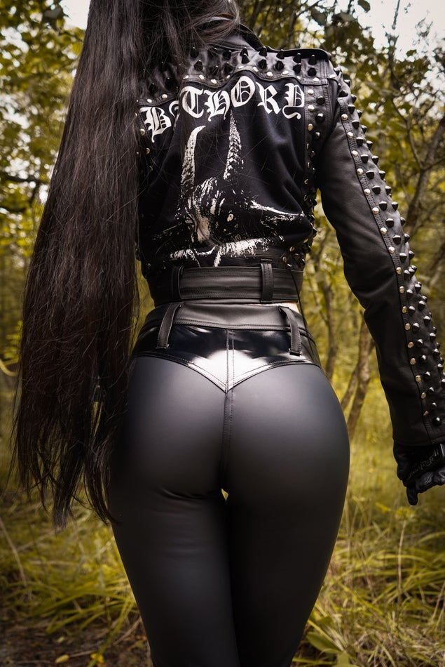 Image of Toxic Vision winter weight matte bullet pants - MULTI SIZE