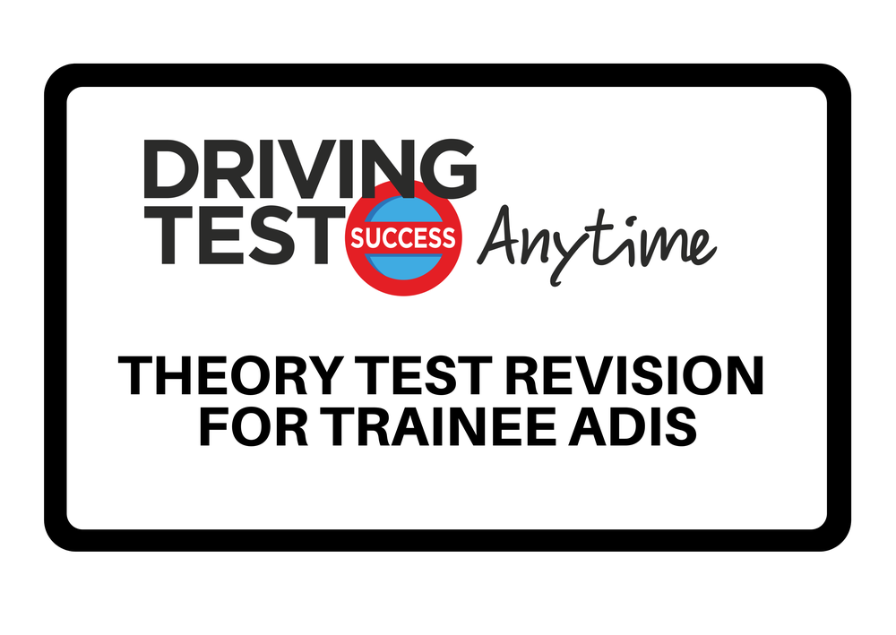 Image of Online Theory Test Revision for Trainee ADIs - 6 month subscription
