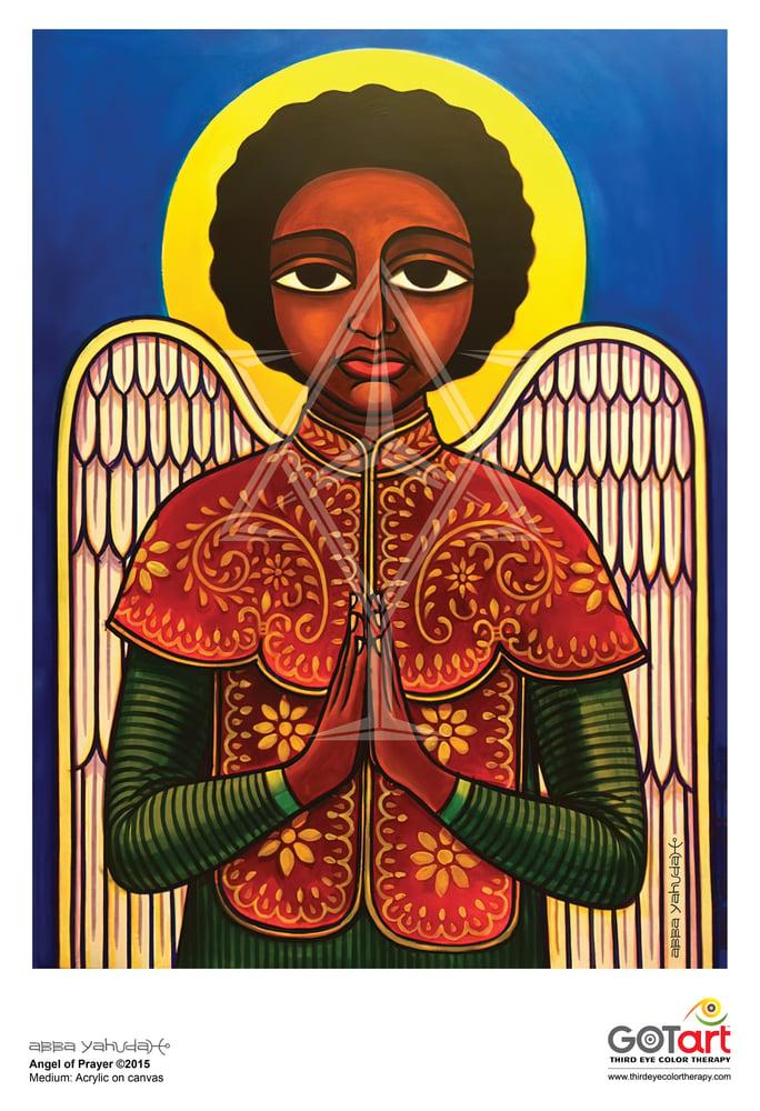 Image of Angel of Prayer ©2015 - Poster Print