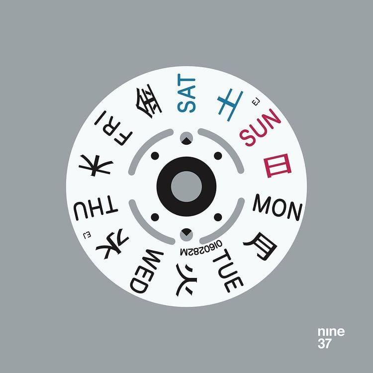 Image of Seiko Date Wheel (light)