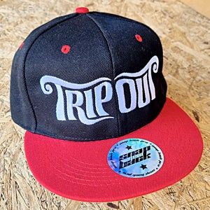 Image of Text Logo Snapback Cap