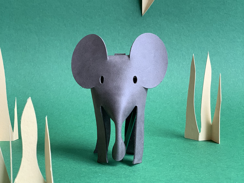 Image of Elephant Keyring - never forget your keys
