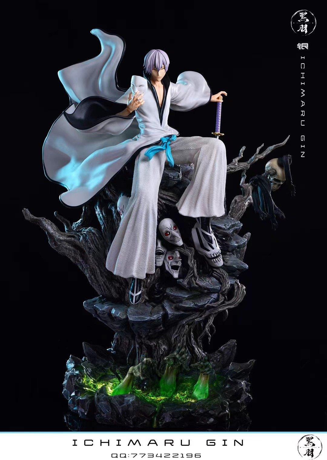 Image of [Pre-Order]Bleach Black Wing Studio Gin 1:6 Resin Statue
