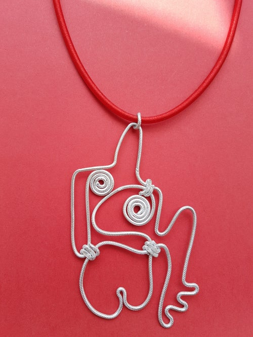 Image of henry moore pendant 1