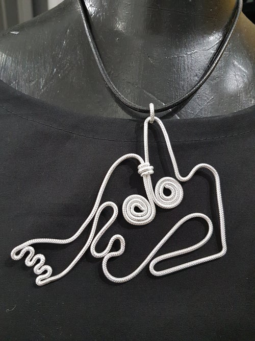 Image of henry moore pendant 2