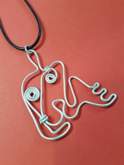 Image of henry moore pendant 3