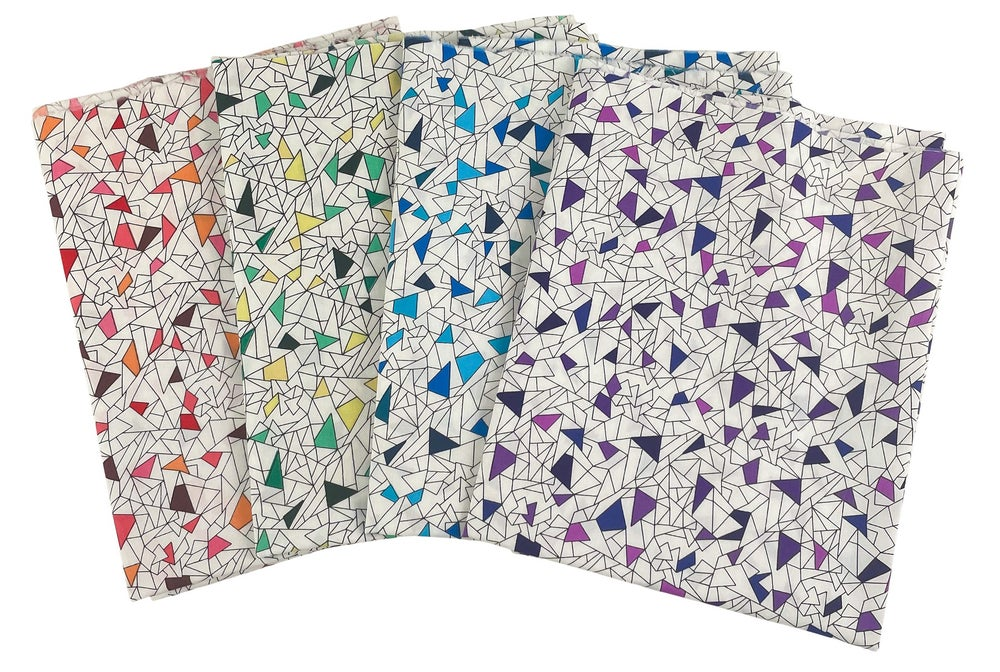 Crackle by the Yard - Choose Red, Green, Blue or Violet - Preorder Ships 11/1