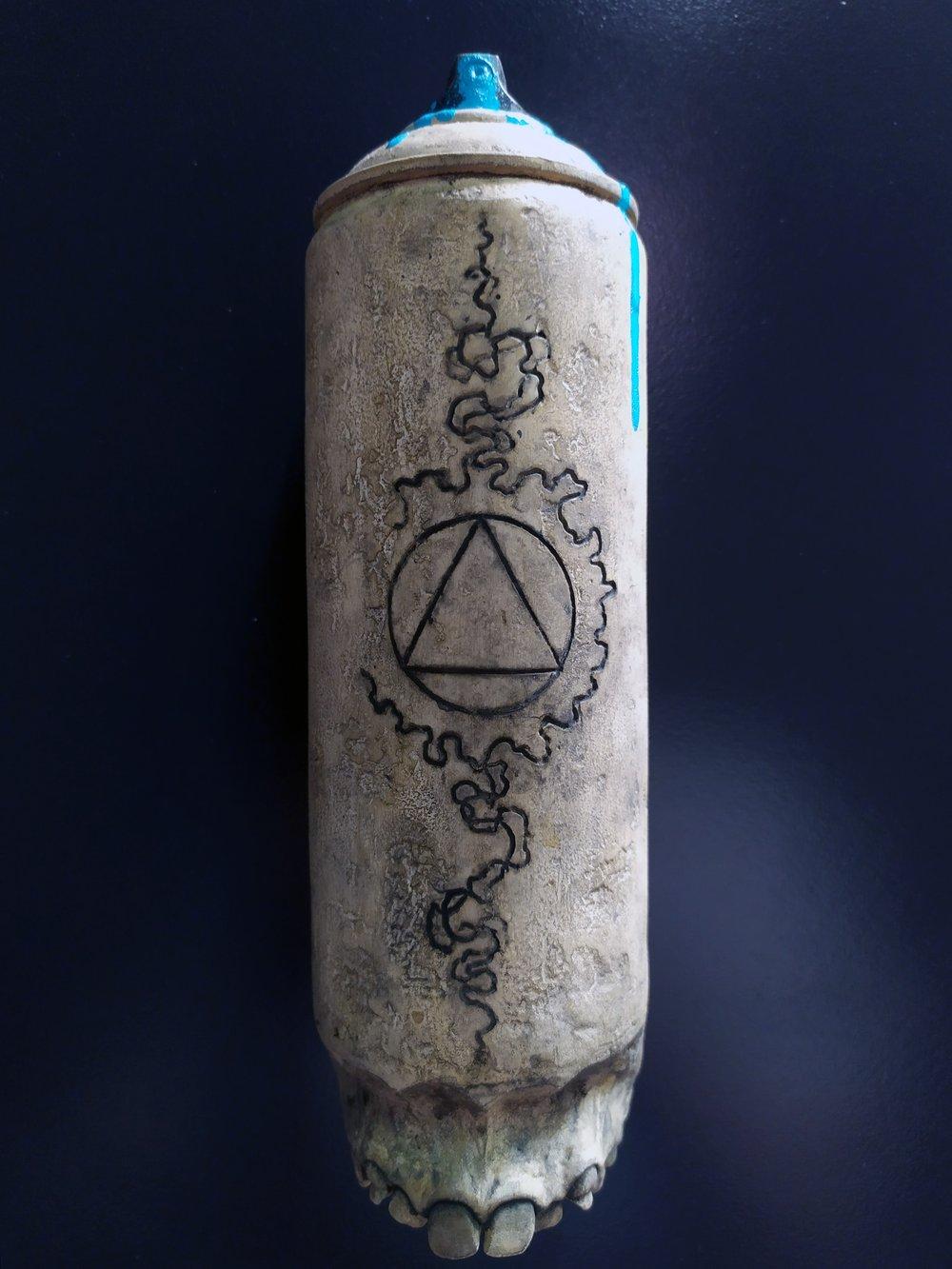 Spray InDaFace #01