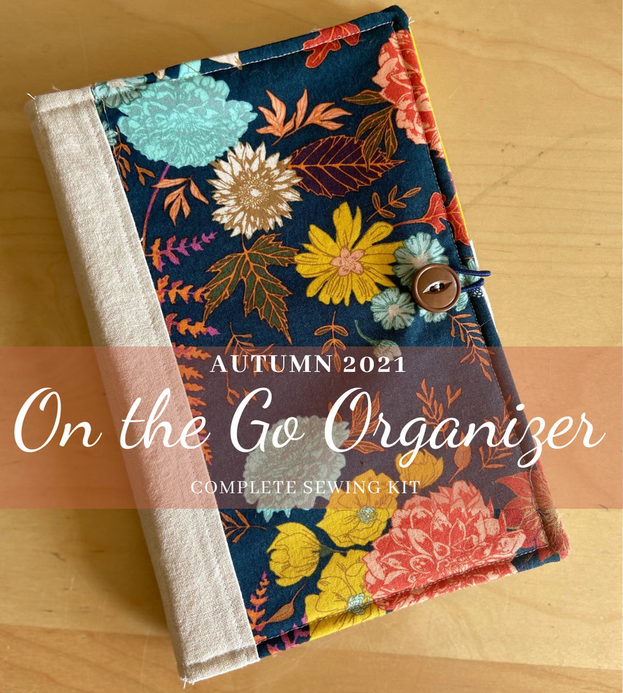 Image of On the Go Organizer Autumn 2021 Sewing Kit and Digital Pattern