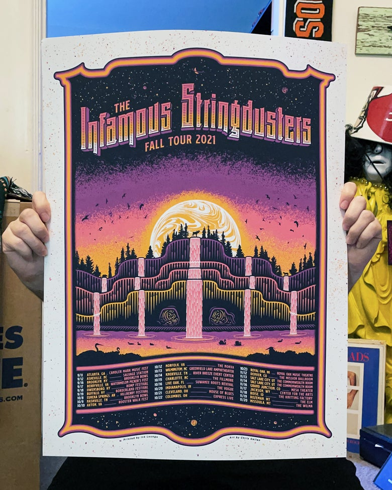 Image of The Infamous Stringdusters - Fall Tour 2021 Poster