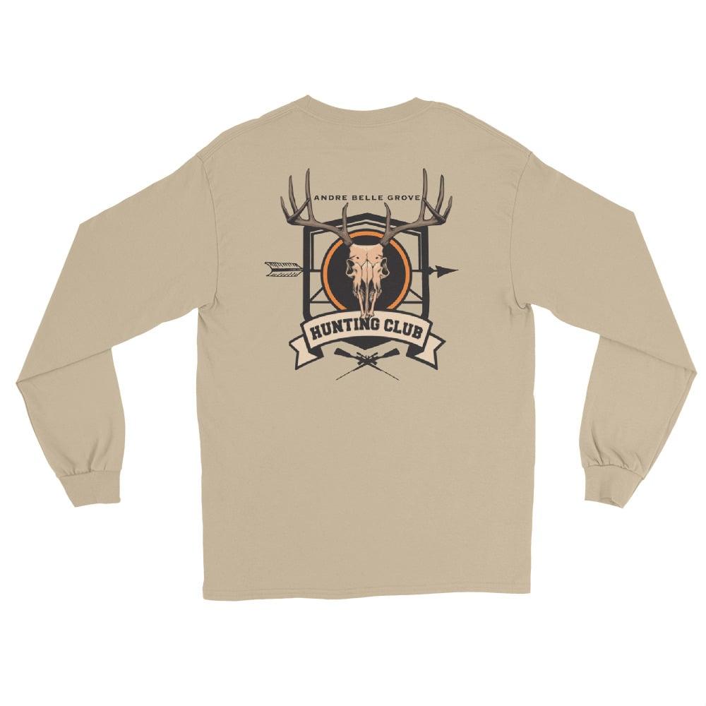 Image of ABG Hunter Club Tan Long Sleeve