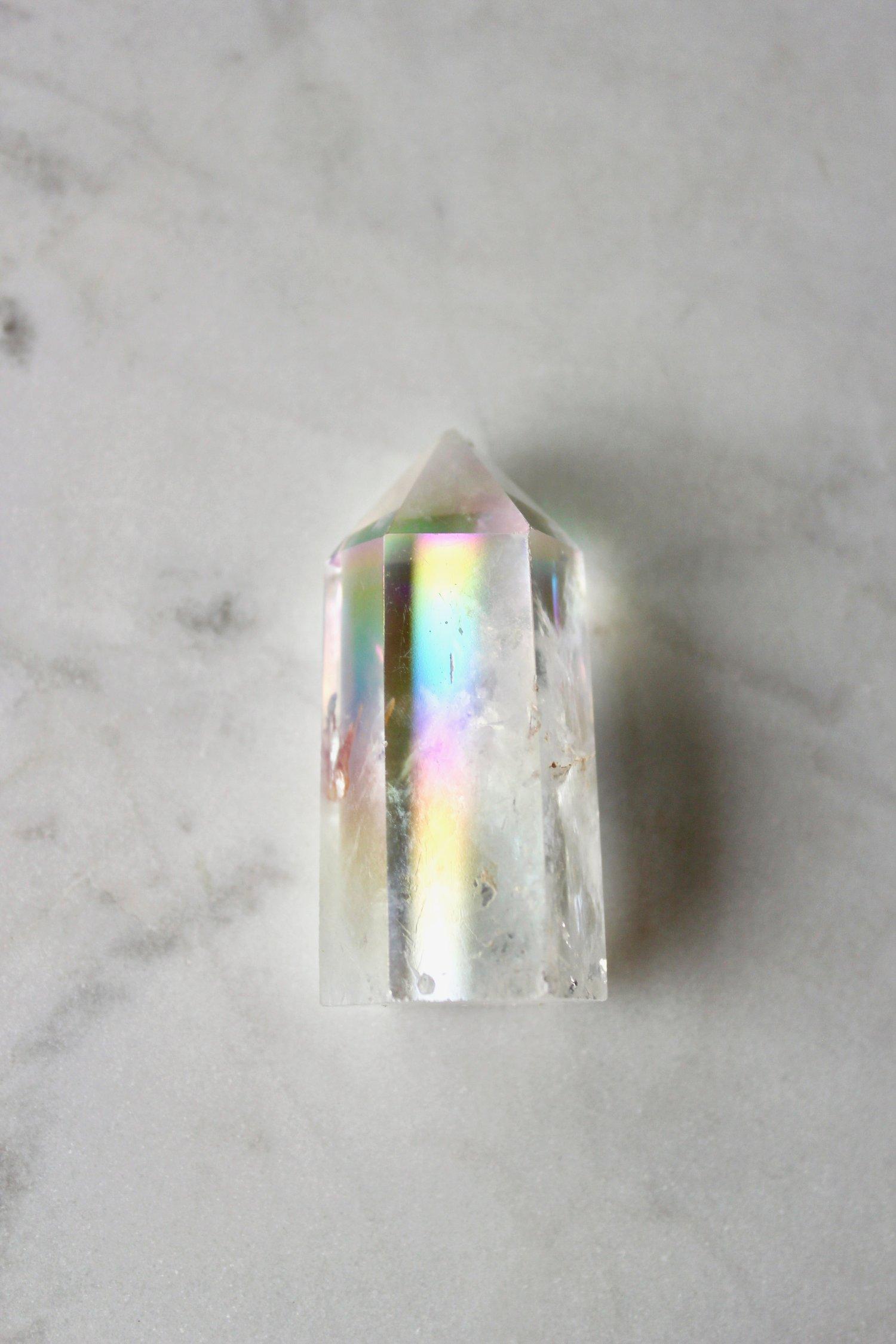 Image of Angel Aura Quartz Crystal