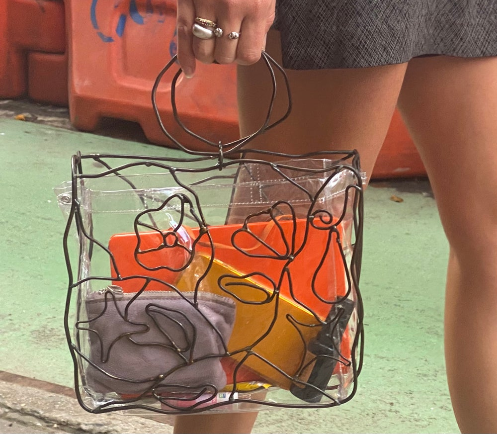 Image of Stained glass bag