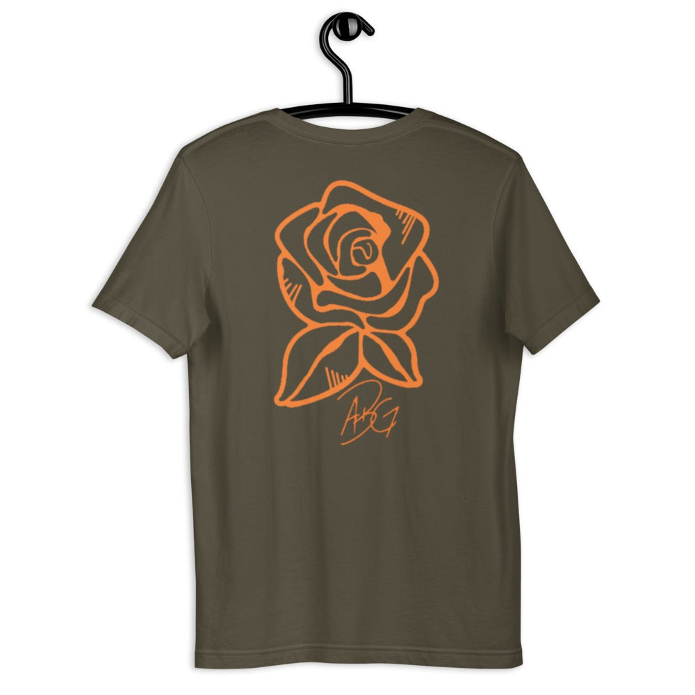 Image of Long Live the Rose T-shirt (Army)
