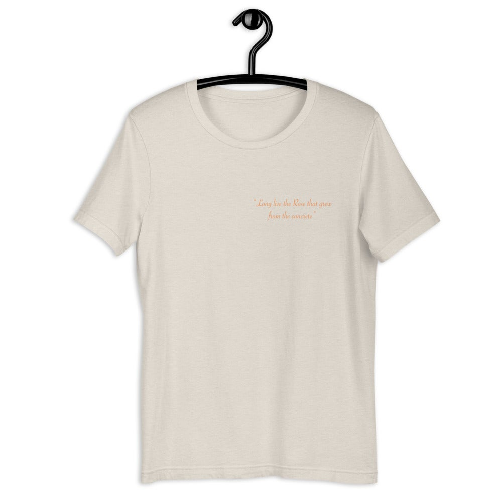 Image of Long Live the Rose T-shirt (Dust)