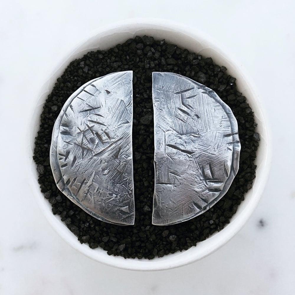 Image of Shield Earrings #2