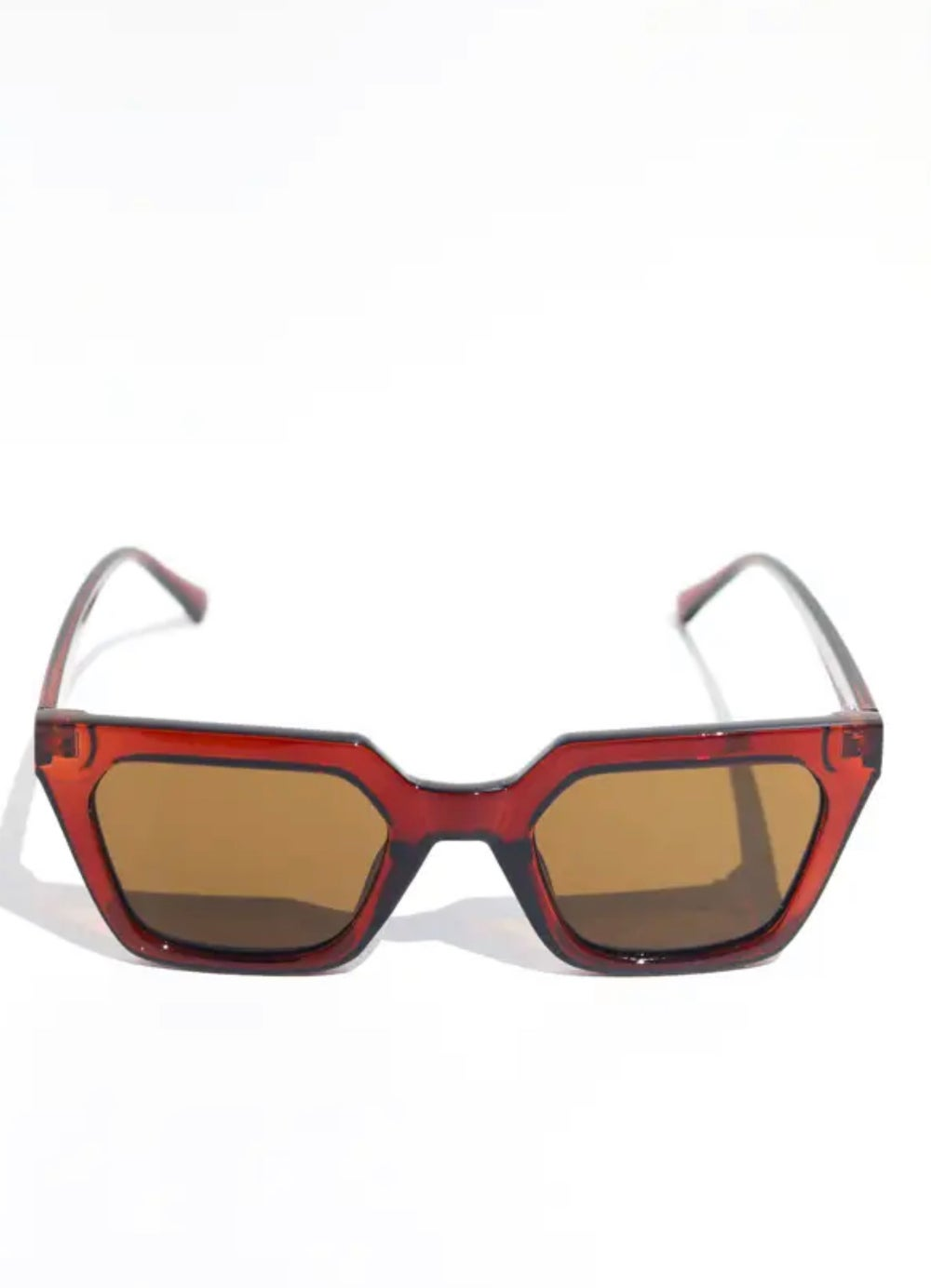 Image of Snatched Square Frame Sunglasses