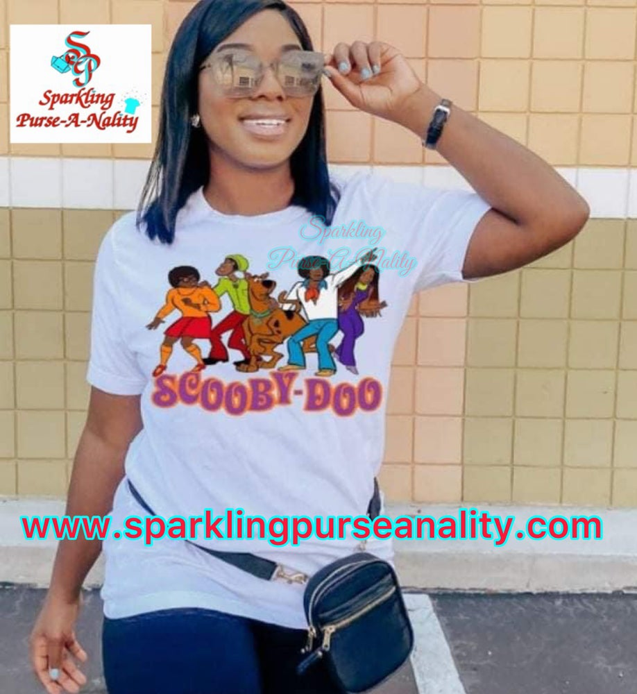 Image of Urban Scooby Doo Cartoon Shirt