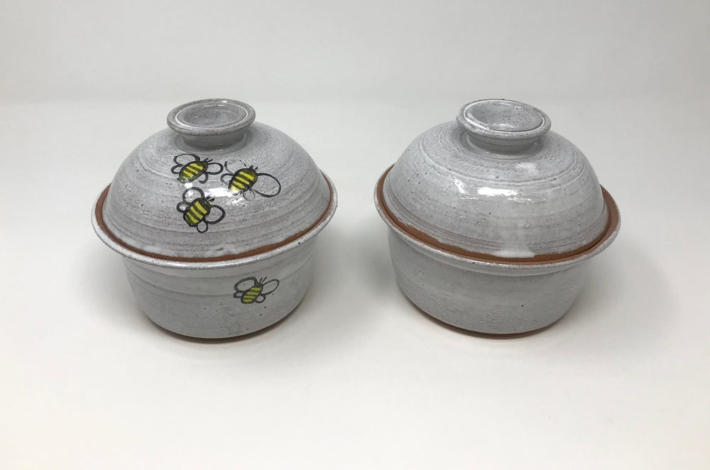 Image of Small lidded pot
