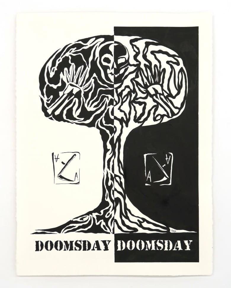 Image of SpiderXdeath 'Doomsday' - Original artwork 2021